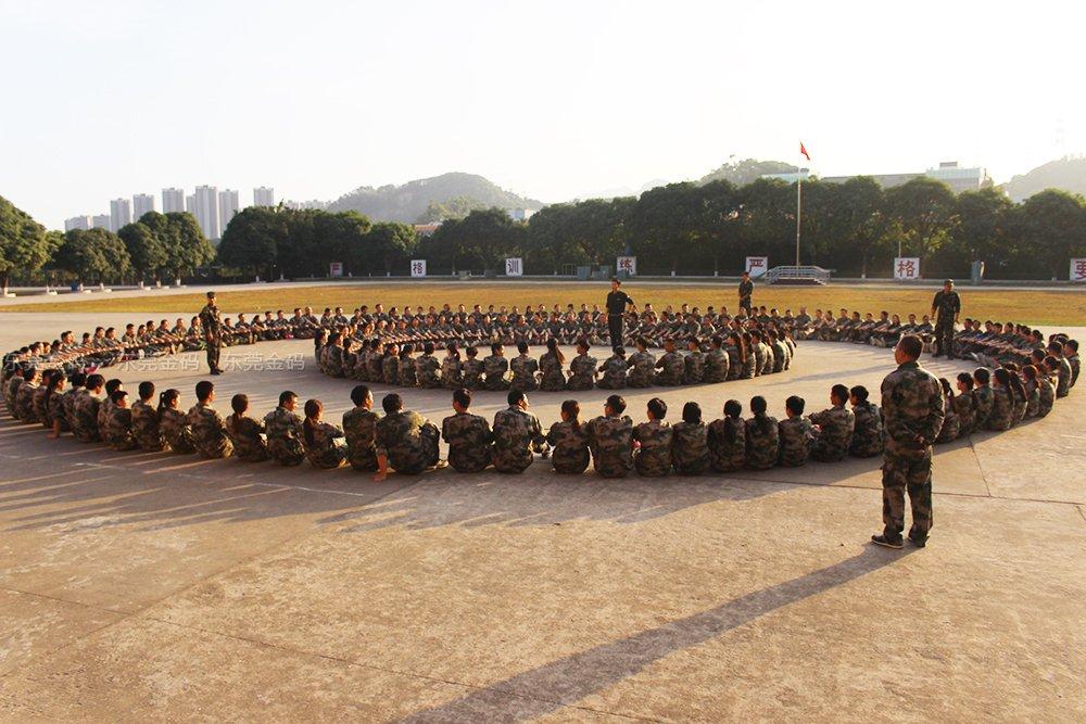 深圳国防基地军训卓越圈