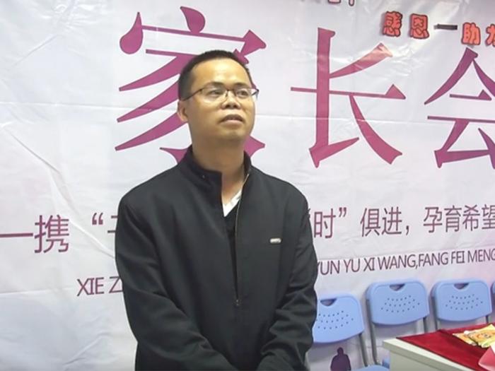 北大青鸟东莞金码家长会---廖同学父亲采访